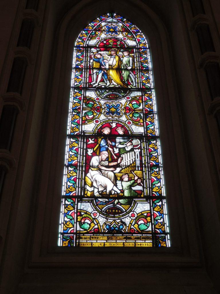 クライスト・チャーチ大聖堂のステンドグラス